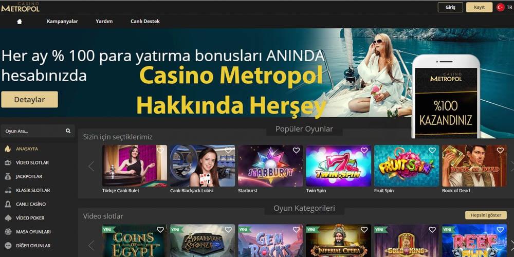 Casino Metropol Kumar Sitesi Güncel Adresi Nedir